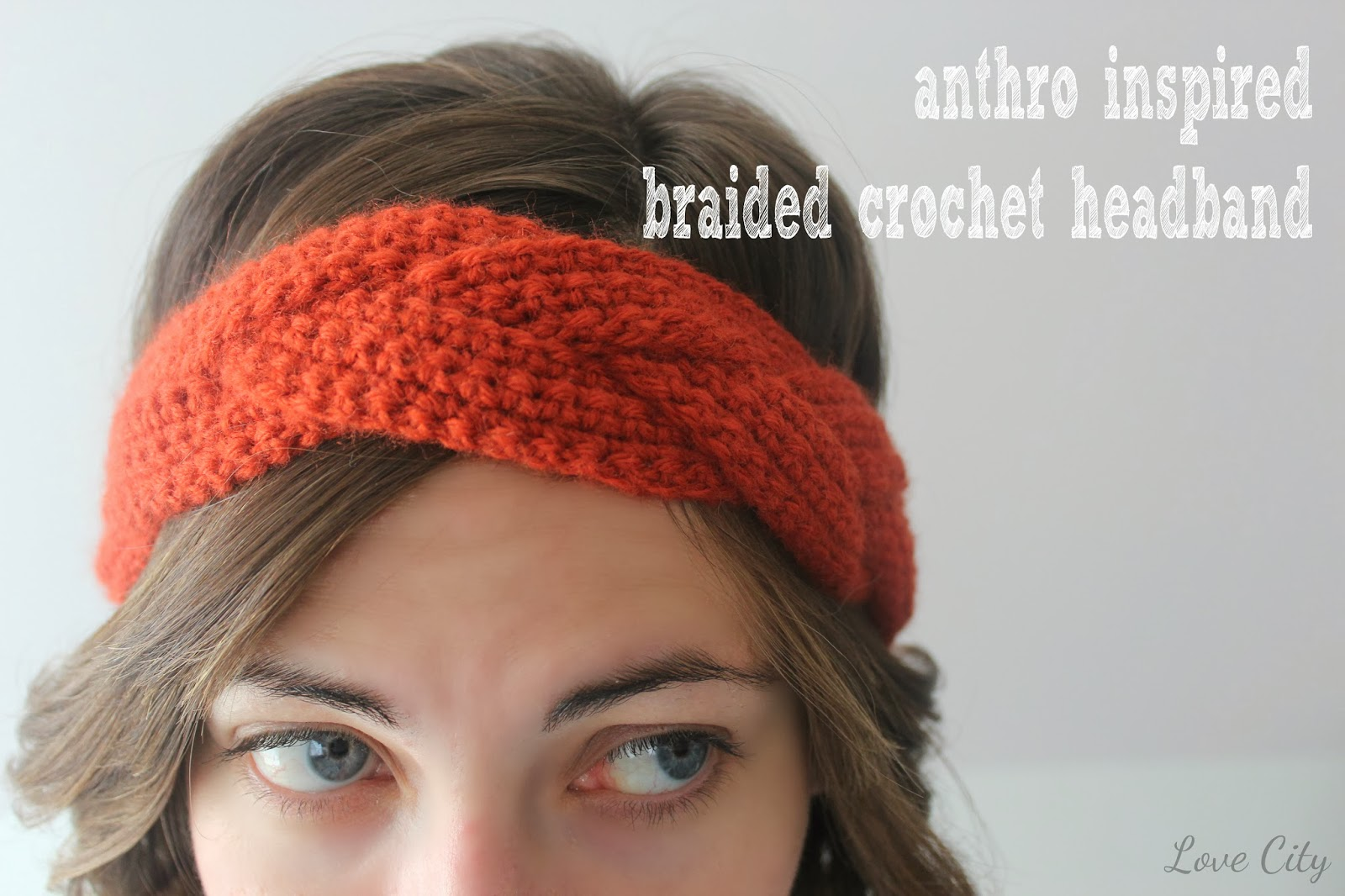 Crochet love anthro inspired braided headband bankloansurffo Choice Image