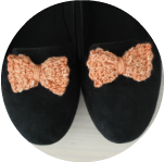 crochet-bows-dressed-up-loafers
