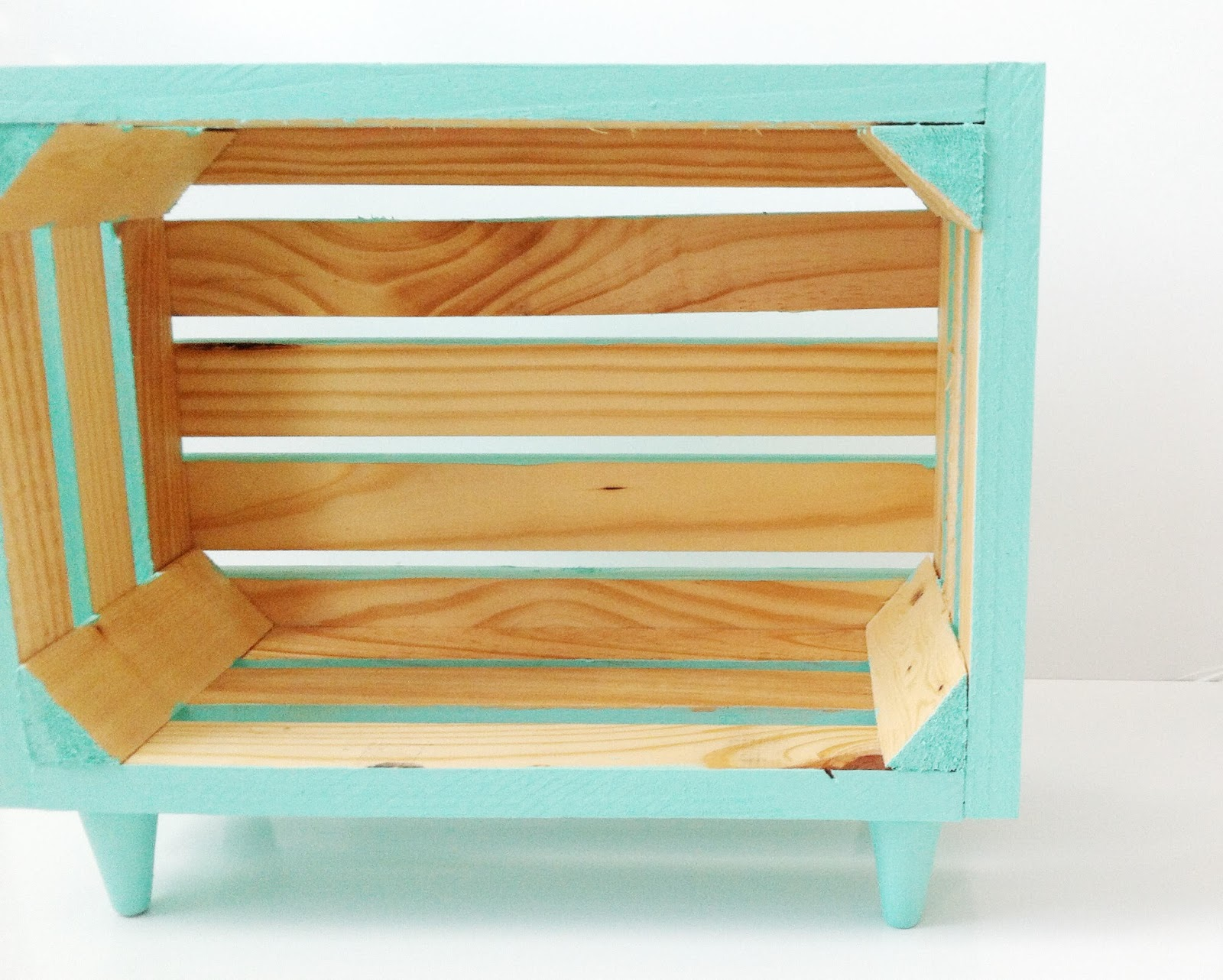 Diy Love Wooden Crate Nightstand Tutorial