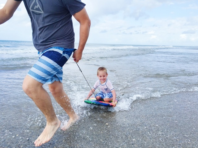 fun-with-dad-on-the-beach