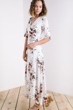 3/4 White Floral || https://www.piperandscoot.com/products/the-grecia-floral-wrap-dress-in-white